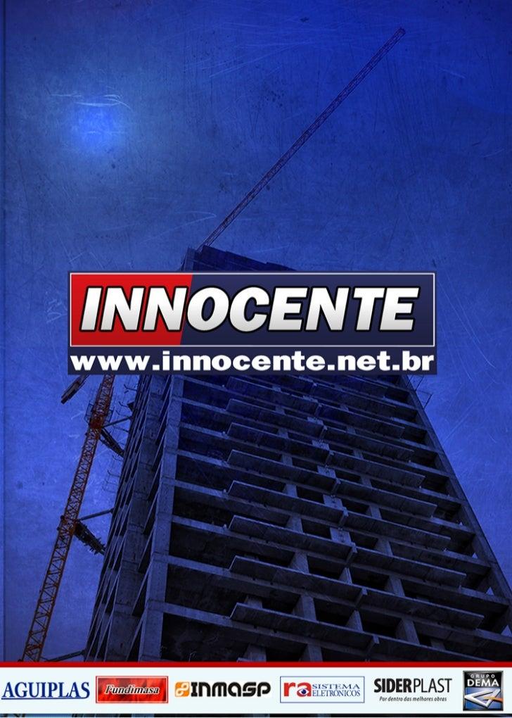 Inocente materiais de  construção ltda folder