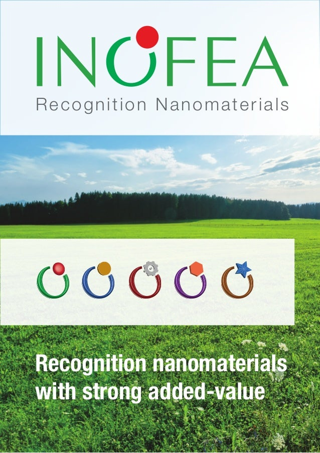 Recognition NanomaterialsRecognition nanomaterialswith strong added‐value