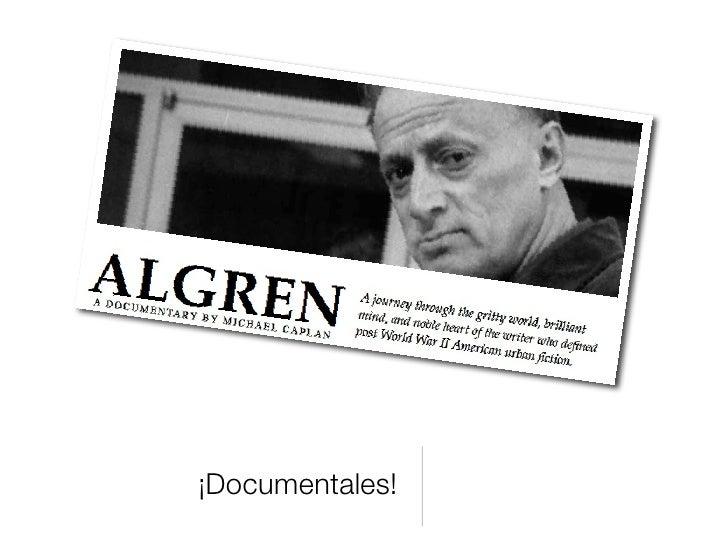 ¡Documentales!