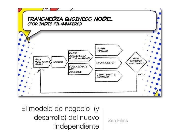 El modelo de negocio (y     desarrollo) del nuevo   Zen Films           independiente
