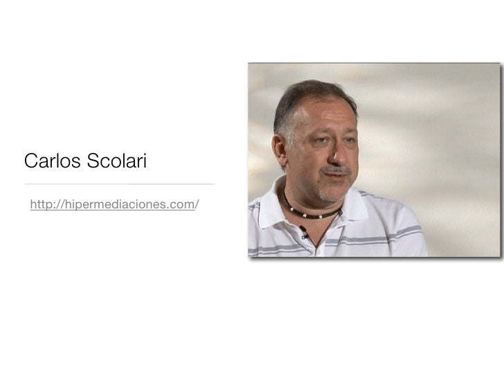 Carlos Scolari http://hipermediaciones.com/