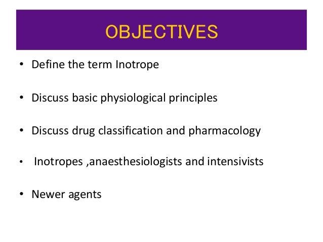 Inotropes Slide 2