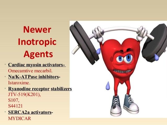 Omecamtiv Mecarbil [cardiac myosin activators] Cleland JG, Teerlink JR, Senior R, et al. The effects of the cardiac myosin...