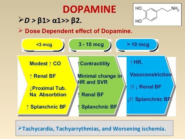 NOREPINEPHRINE α1>>β1> β2  Powerful vasopressor, modest inotropic effects, Less chronotropic.  Predominantly a vasocons...