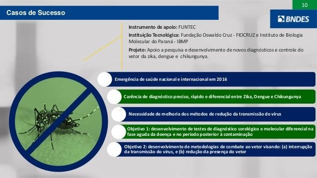 10 Objetivo 2: desenvolvimento de metodologias de combate ao vetor visando: (a) interrupção da transmissão do vírus, e (b)...