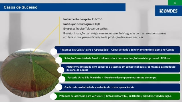 """4 """"Internet das Coisas"""" para o Agronegócio - Conectividade e Sensoriamento Inteligente no Campo Solução Conectividade Rura..."""