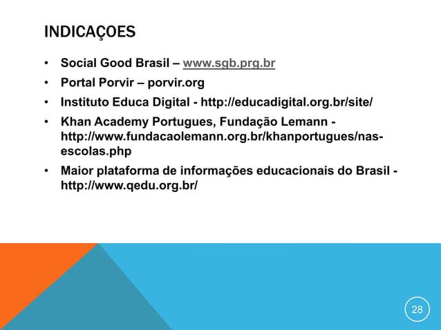 CONTATOCarolina de Andradecarolina@icomfloripa.org.brTwitter: @andradecarolhttp://www.slideshare.net/CarolinadeAndra  de32...