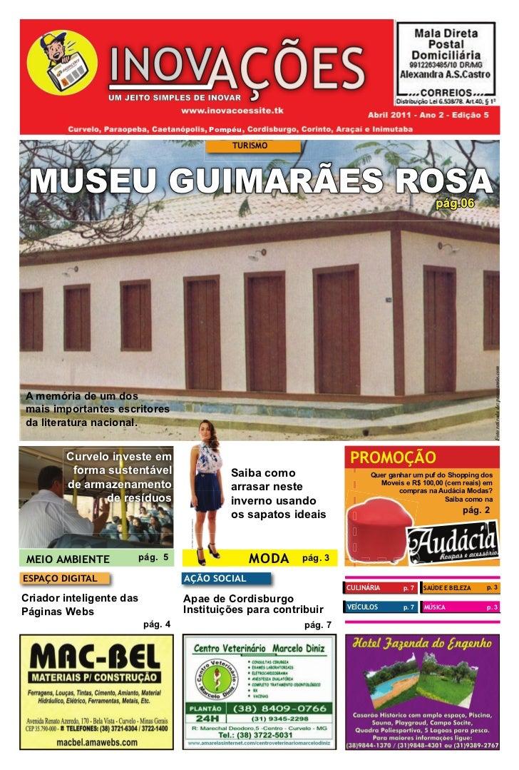 Pompéu                                                                               TURISMO MUSEU GUIMARÃES ROSA         ...