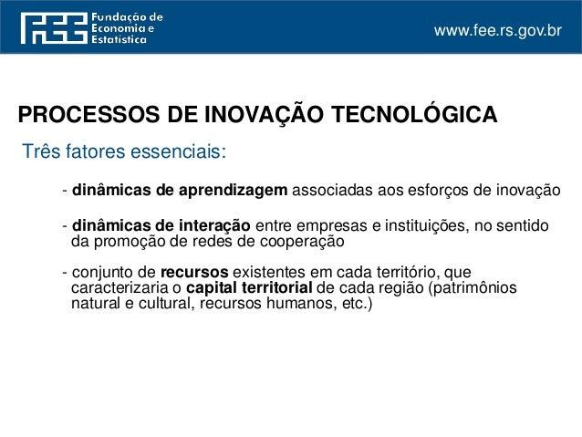 Inovação e cooperação nos parques científicos e tecnológicos gaúchos podemos comemorar  Slide 3