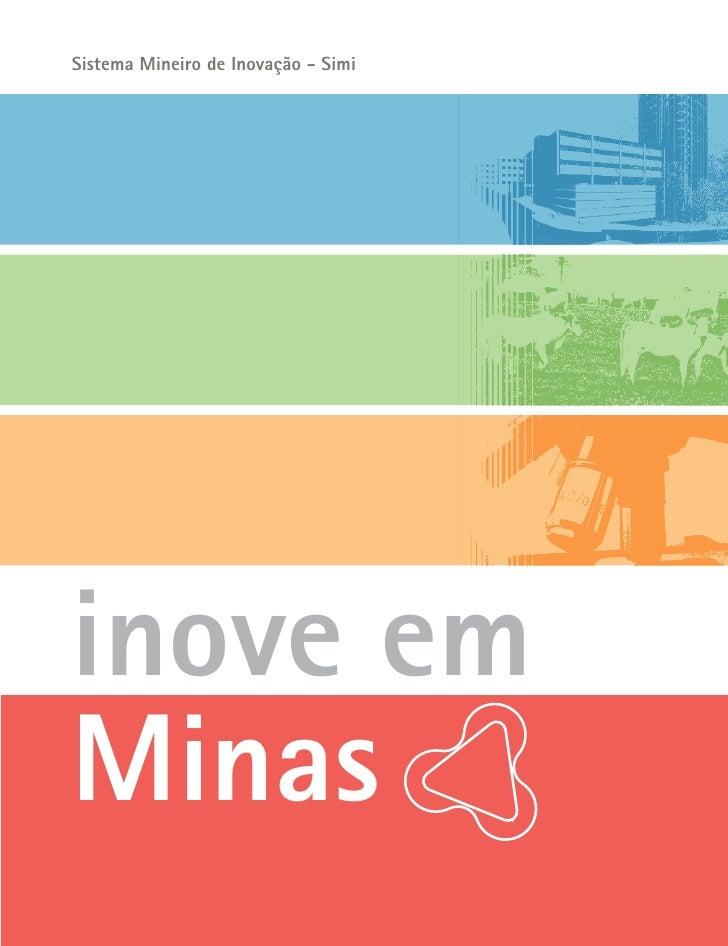 Sistema Mineiro de Inovação - Simi     inove em Minas