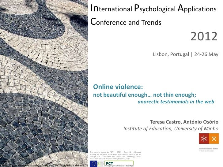 International Psychological Applications                                                             Conference and Trends...