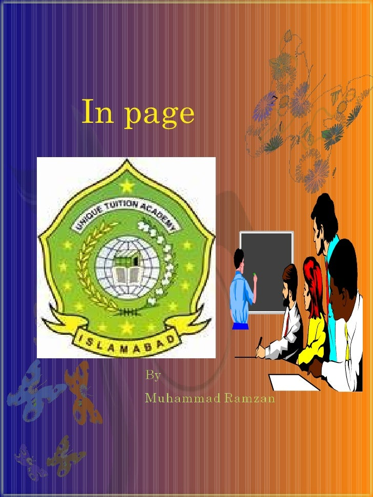In page