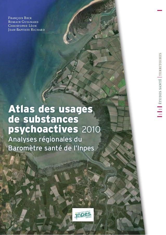 Cet ouvrage présente les statistiques régionales tirées du Baromètre santé 2010 sous la forme : ––d'un ensemble de cartes ...