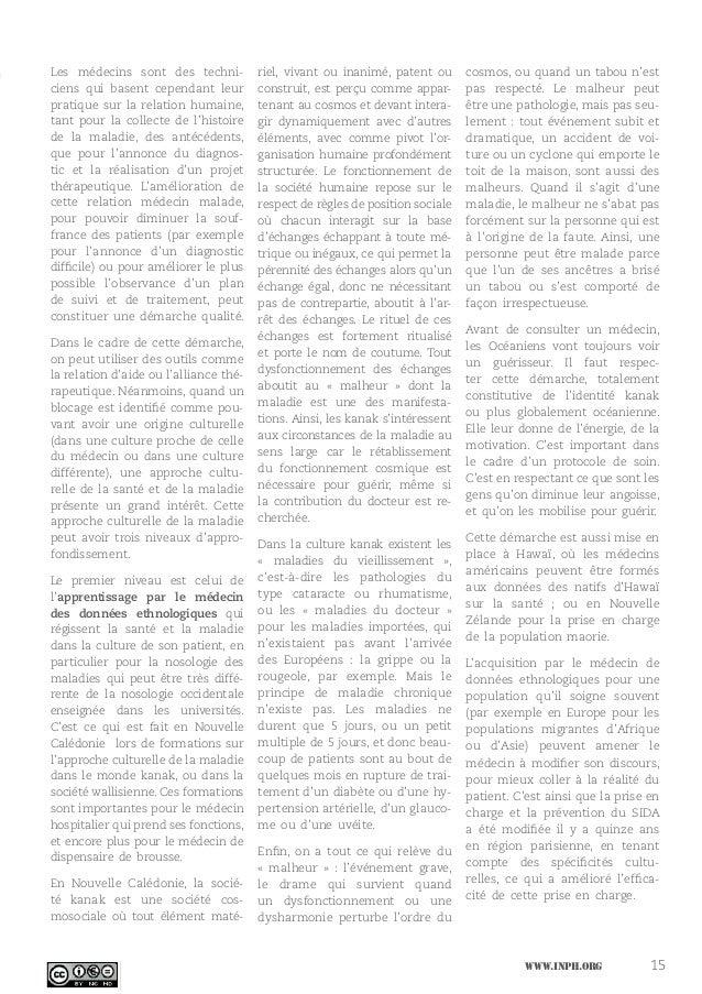 Chroniques d'hôpital  - Approche interculturelle de la santé et de la maladie Slide 2