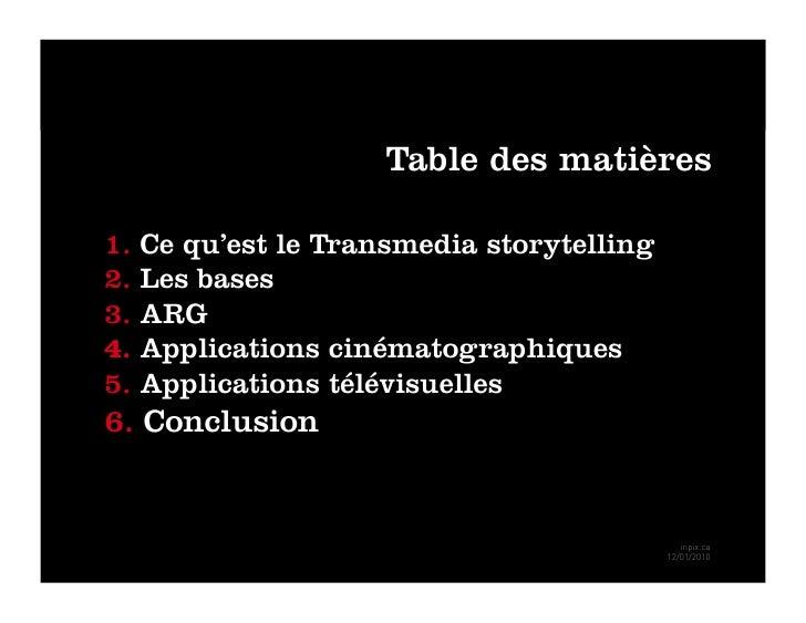 Inpix transmedia storytelling Slide 2