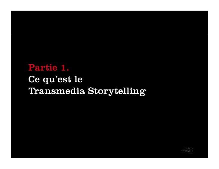 Inpix transmedia storytelling Slide 3
