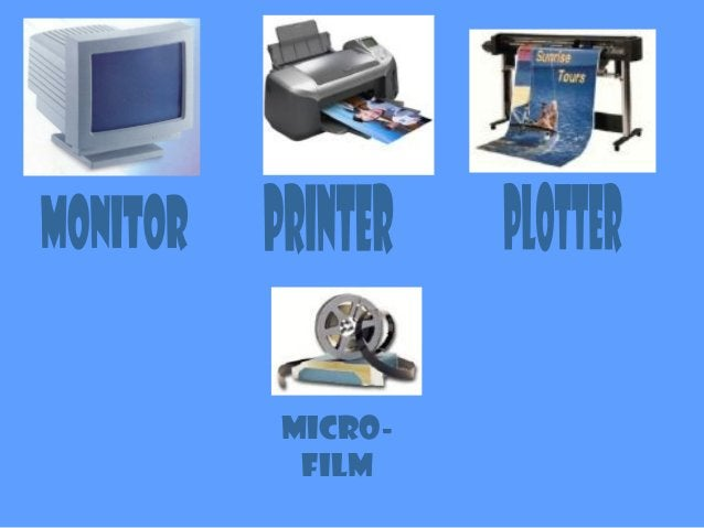 The Monitor The monitor is one of the most important output devices, it is used to display text and pictures. The monitor ...