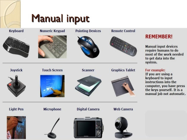 input and output devices of computer and their uses