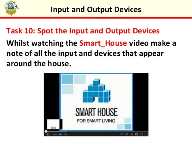 input and output devices notes