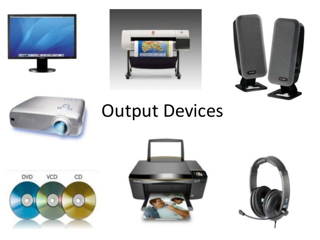 input and output devices of a 1 brief overview of typical input and output devices used with plc's input devices: sensors which give digital/discrete, ie on/off signal to the input ports of the.
