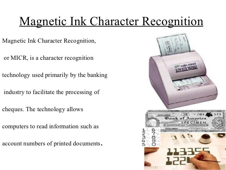 magnetic ink