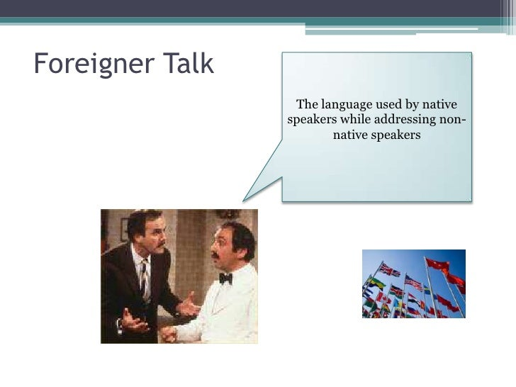 Chat with foreigner