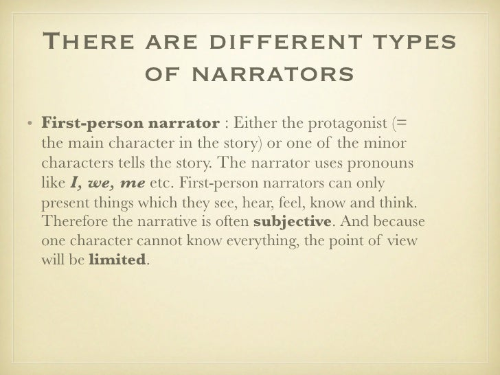 Character Profiles