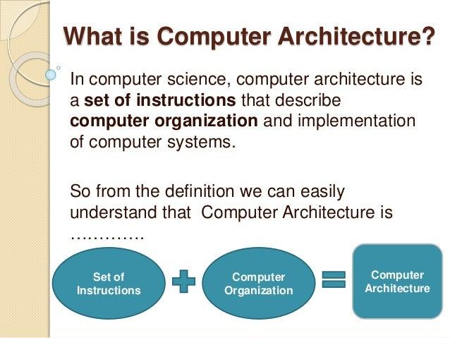 input output - computer architecture
