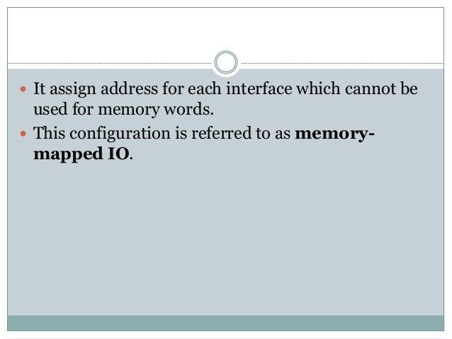 Input Output Organization Slide 10