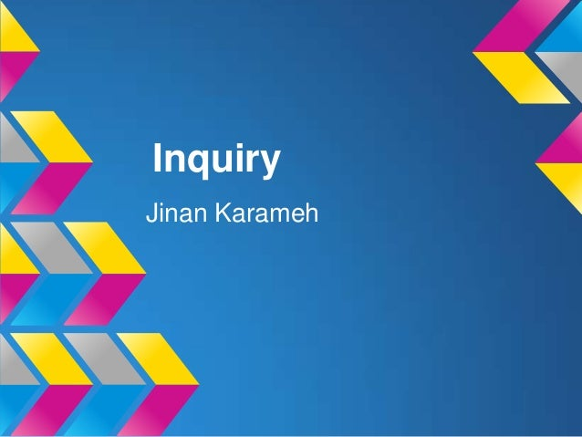Inquiry Jinan Karameh