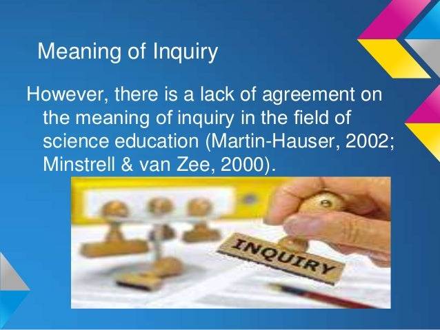 Inquiry Based Teaching And Its Historical Background