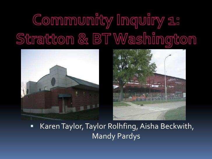 Inquiry 1 presentation