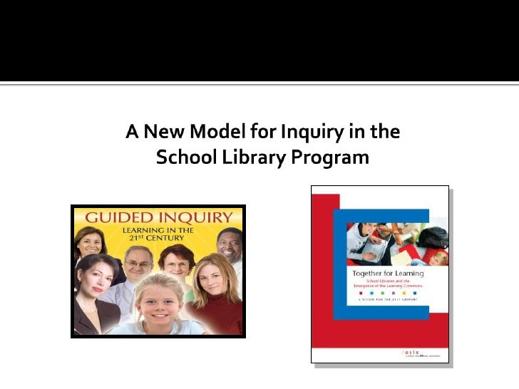 A New Model for Inquiry in the School Library Program<br />