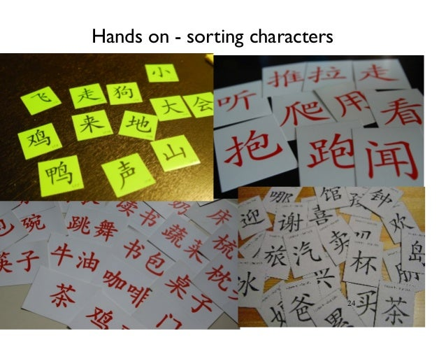 Inquiry-based Learning of Chinese characters