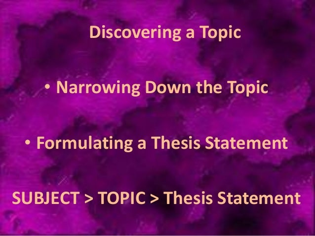 inquiry thesis A thesis statement presents the position that you intend to argue within your paper, whereas a research question indicates your direction of inquiry in your.