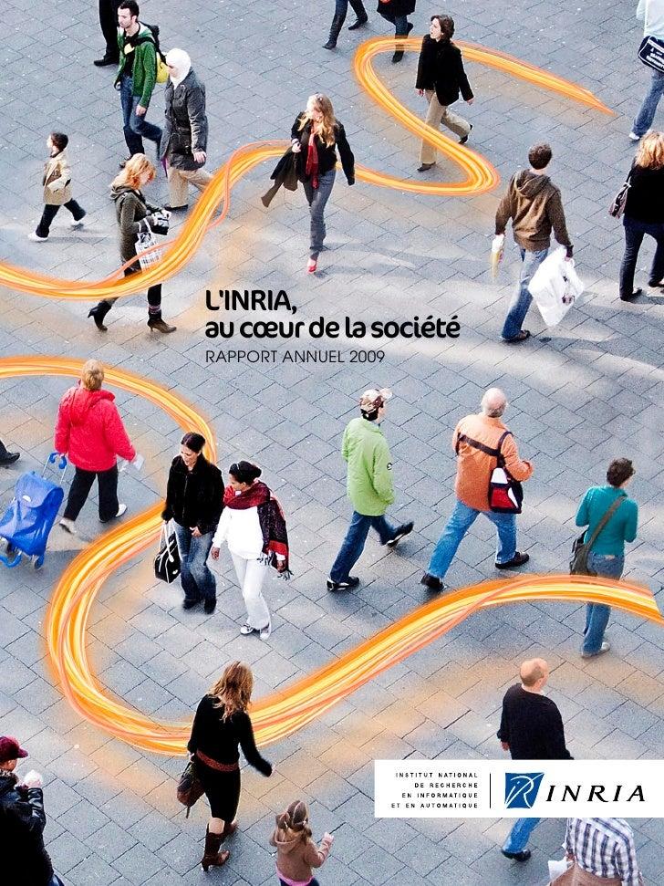 Inria -  Rapport annuel 2009 Slide 2