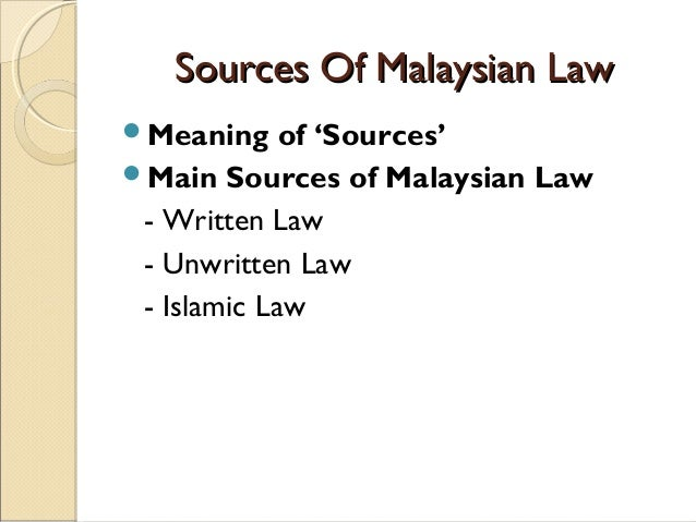 malaysia legal system About this book although primarily aimed at readers who wish to gain an understanding of the application of the malaysian legal system, this book can also form a valuable source of.