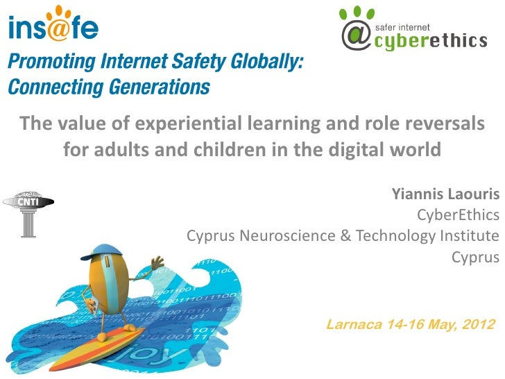 The value of experiential learning and role reversals     for adults and children in the digital world                    ...