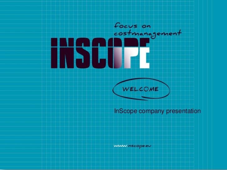 InScope company presentation