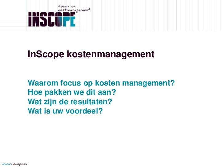 InScope Presentatie V1 Slide 2
