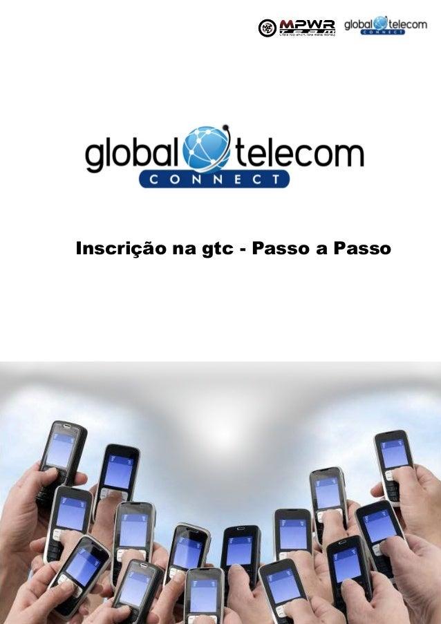 Inscrição na gtc - Passo a Passo1