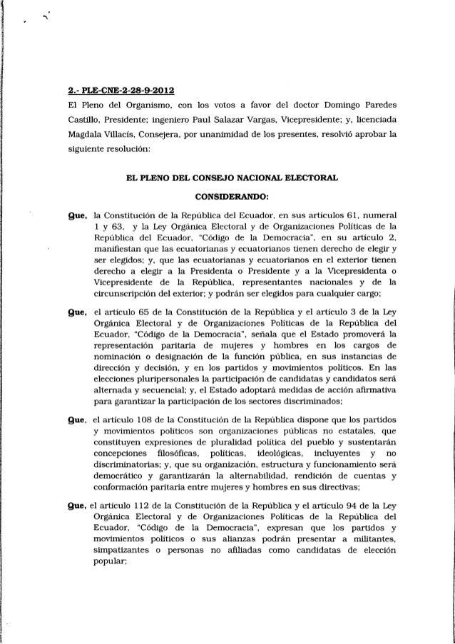 Inscripcion de candidatos rcc 2012