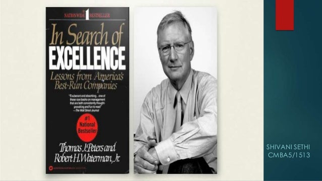 In search of excellence video