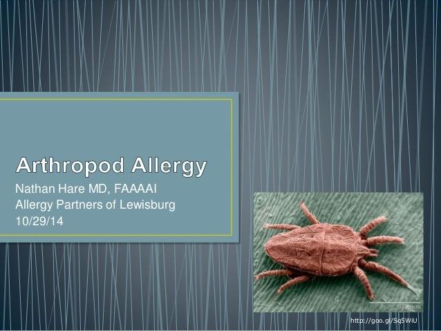 Nathan Hare MD, FAAAAI Allergy Partners of Lewisburg 10/29/14 http://goo.gl/Sq5WiU