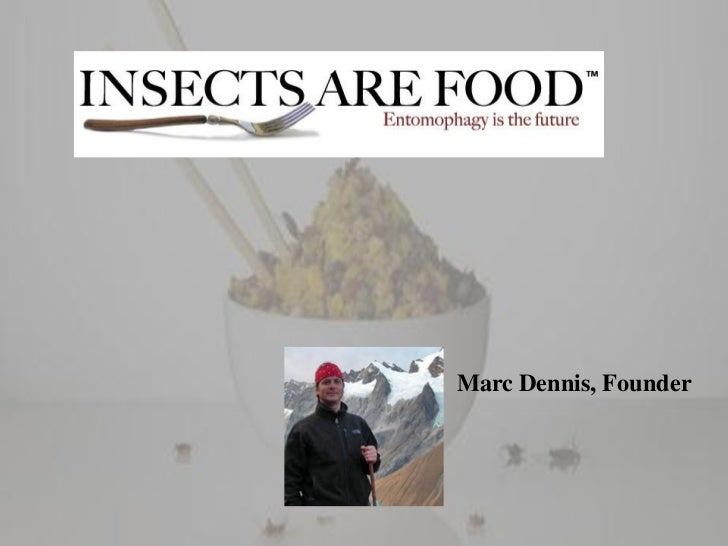 Insects as human food Slide 3
