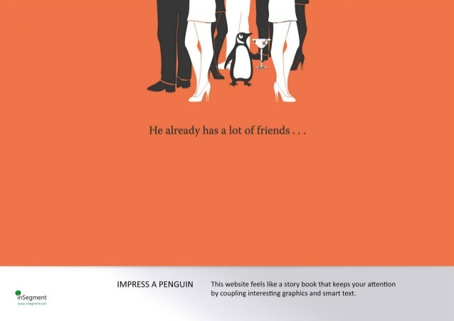 YnSegment  He already has a lot of friends .  . .   IM PRESS A PENGUIN This website feels Iike a story book that keeps you...