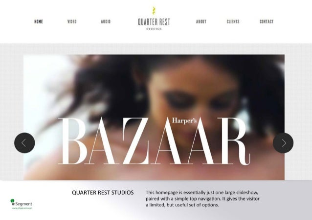 non:  VIDEO AUDIO fluifllffl Hm ABUUT cums CUNHCT  xlì mm».      QUARTER REST STUDIOS This homepage is essentially just one l...