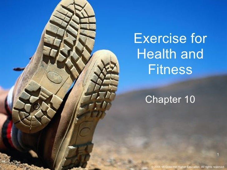 Exercise for Health and Fitness Chapter 10