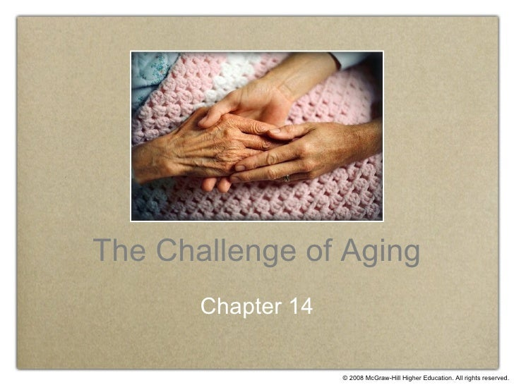 The Challenge of Aging Chapter 14