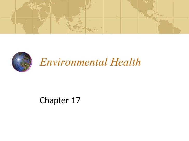Environmental Health Chapter 17
